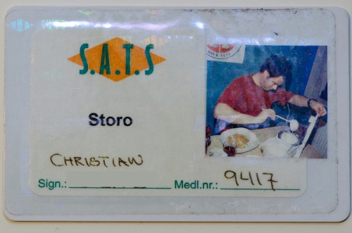 SATS-kort med vaffelsteking